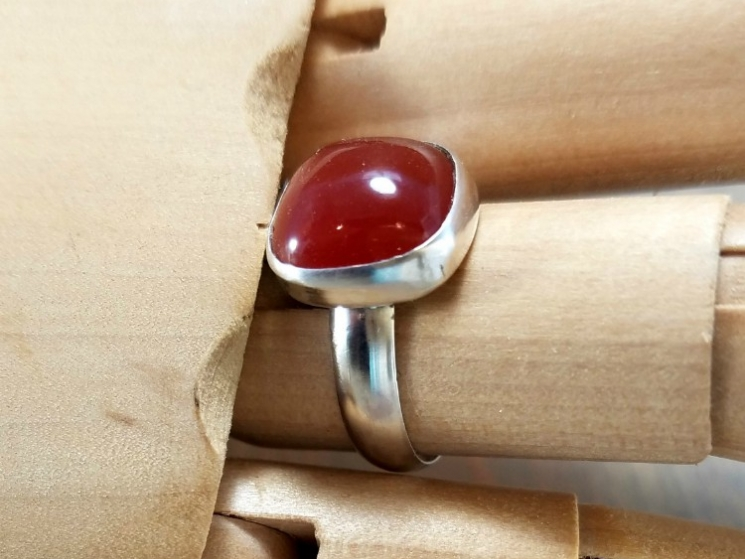 Handmade Gemstone Ring