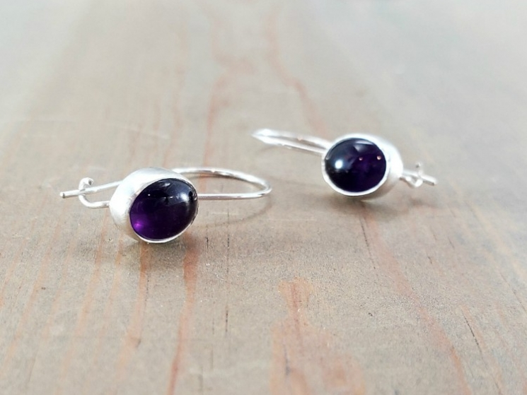 Everyday gemstone earrings