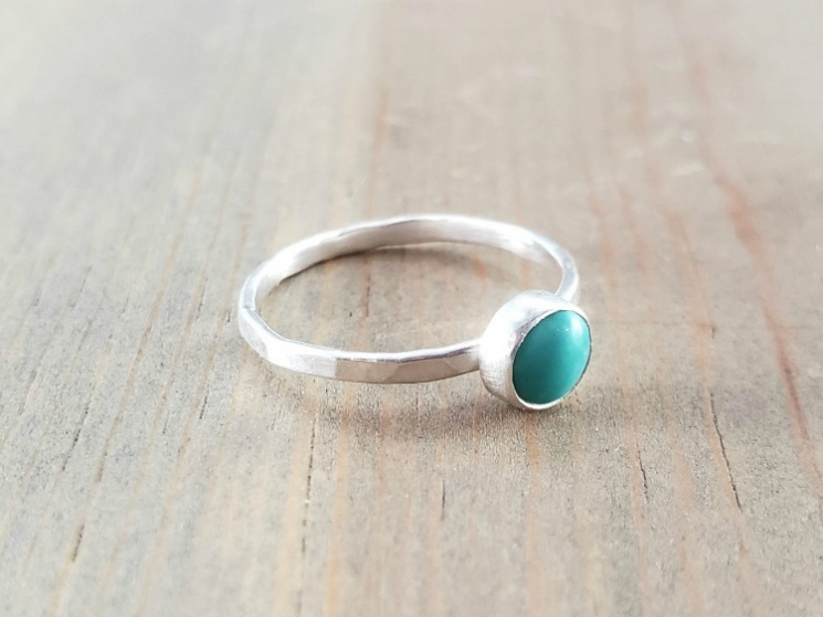 Turquoise Pinky Ring