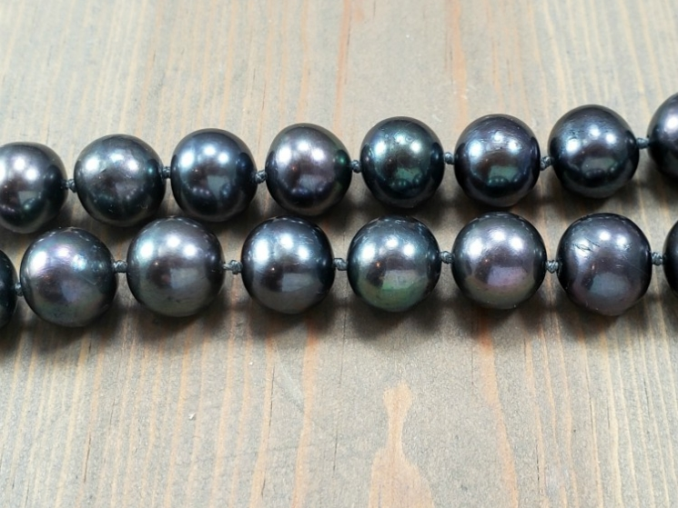 hand knotted pearls