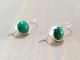Green Dainty Earrings