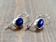 Cobalt Blue Lapis Lazuli Earrings