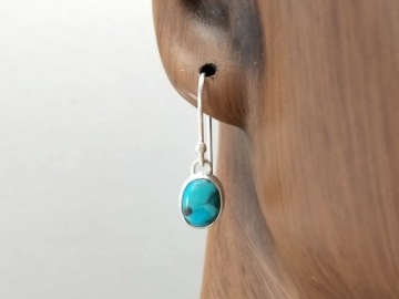 Dainty Turquoise Earrings