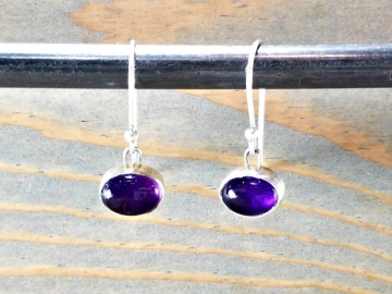 Small Amethyst Dangles