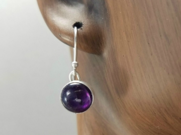 Handmade Amethyst Earrings