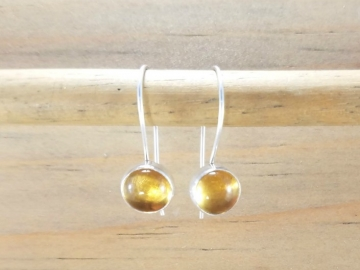 Yellow Citrine Earrings