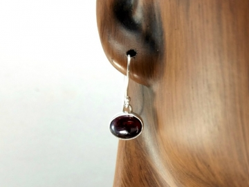 Red Garnet Dangle