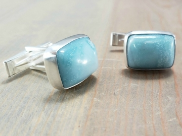 Gemstone Cuff Links