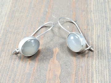 moonstone drop earrrings