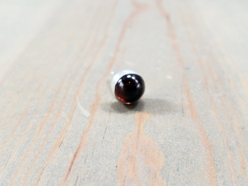 Single Garnet Earring