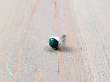 Single Turquoise Stud Earring