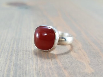 Red Carnelian Ring