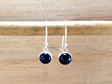 Deep Blue Iolite Earrings