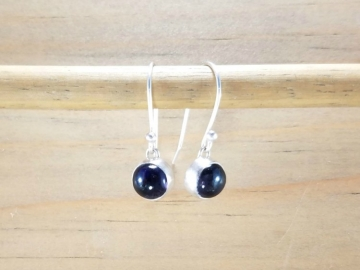 Blue Iolite Earrings