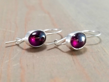 Lightweight Garnet Earrings