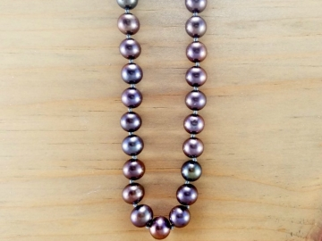 18 Inch Peacock Pearl Necklace