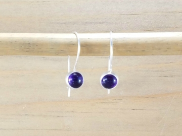 Small Amethyst Earrings
