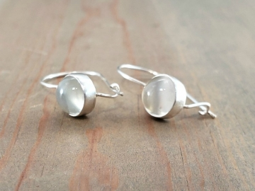 Moonstone Earrings with Kidney Wire