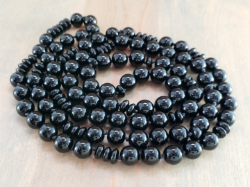 Endless Black Onyx Necklace
