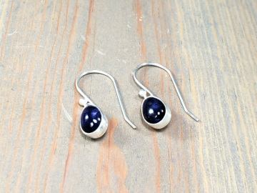 Iolite Teardop Earrings