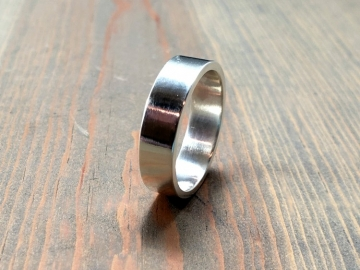 Smooth Sterling Silver Ring