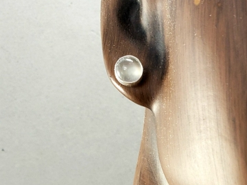 Single Moonstone Earring