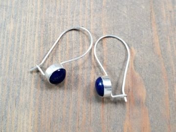 Small Blue Lapis Earrings