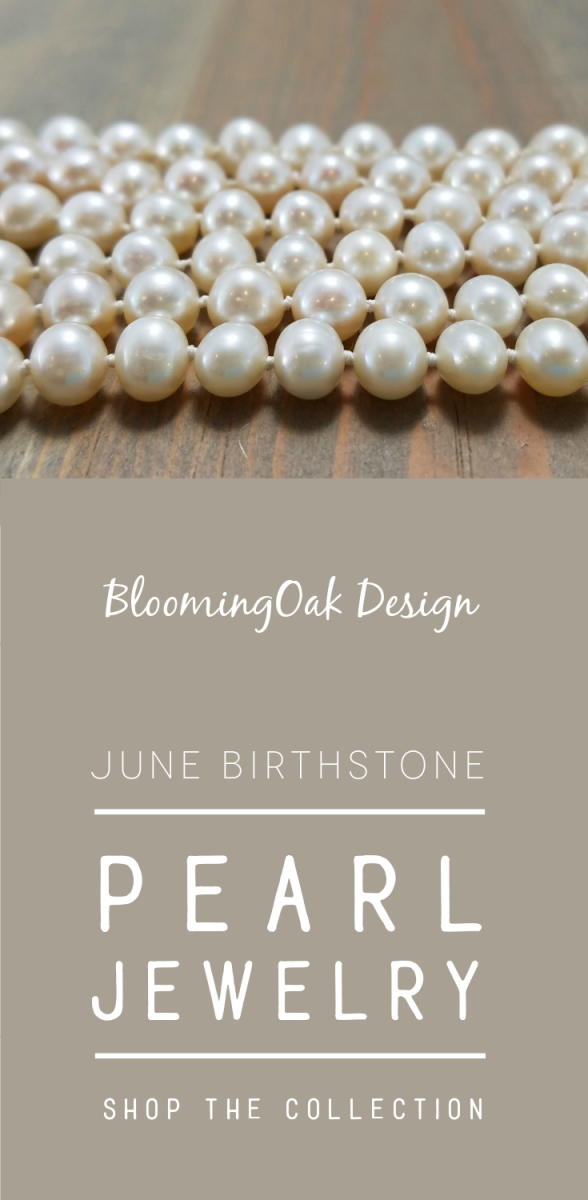 June Birthstone - Pearl Jewelry