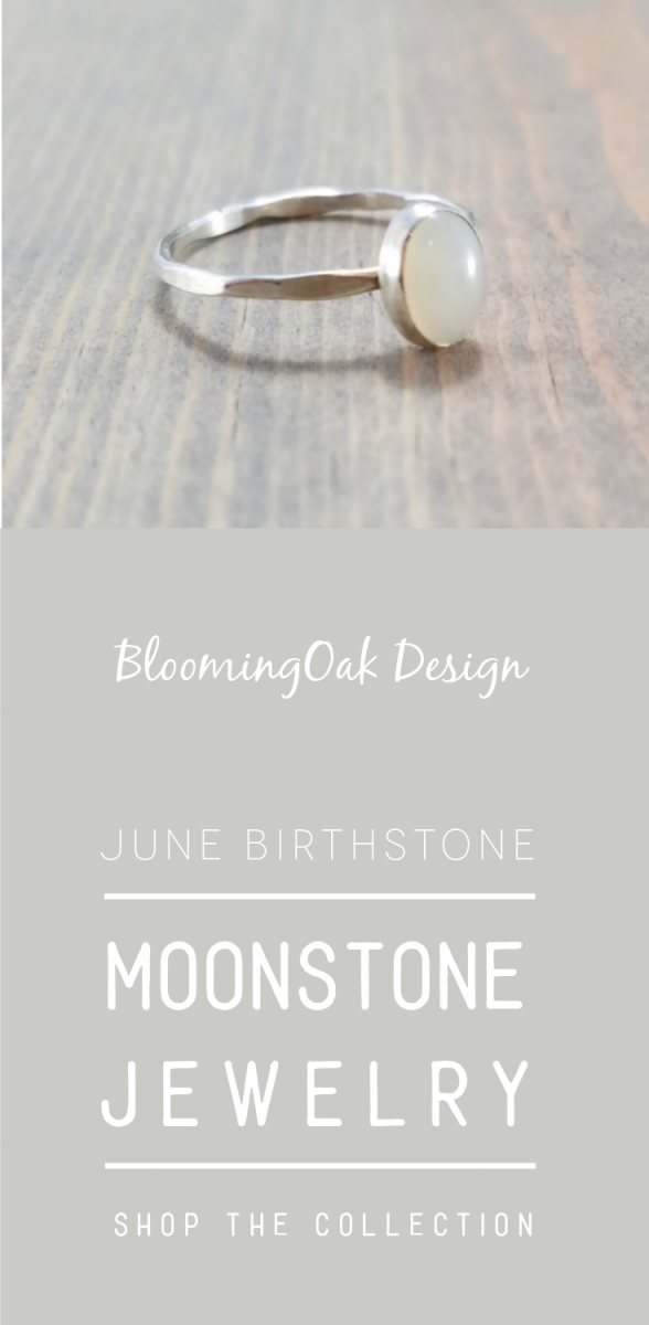 June Birthstone - Moonstone Jewelry