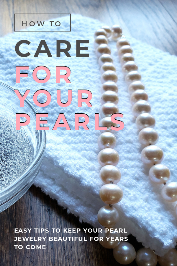 Easy tips to care for your pearls
